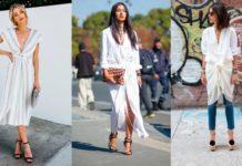 Платье с узлом - модный тренд 2019 года