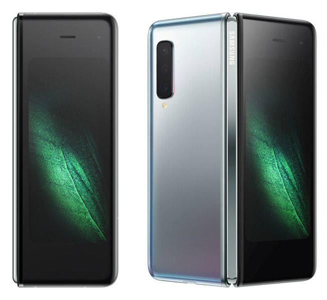 Презентация-нового-Samsung-Galaxy-Fold-удивительный-смартфон-с-гибким-дисплеем-в-закрытом-состоянии