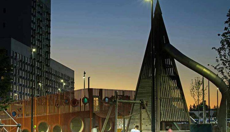 Детская площадка «Пирамиды»