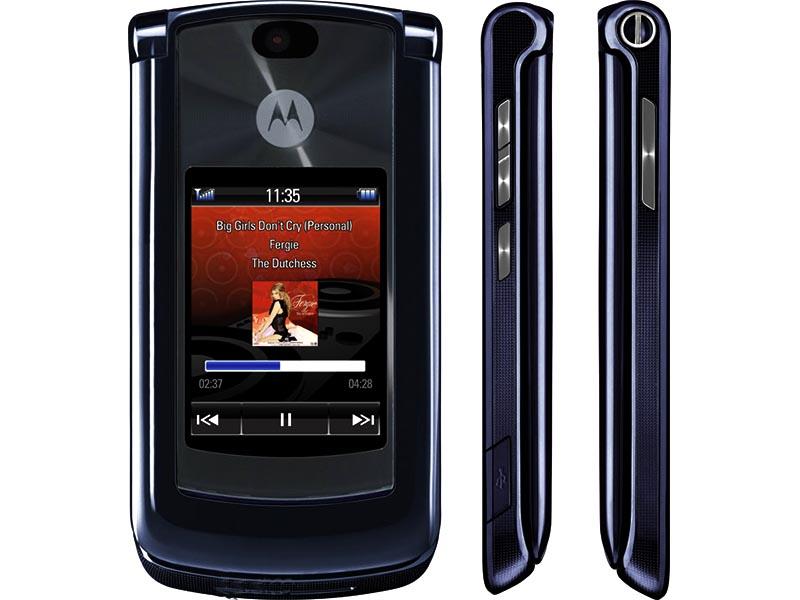 Краткий обзор мобильного телефона Motorola RAZR2 V8
