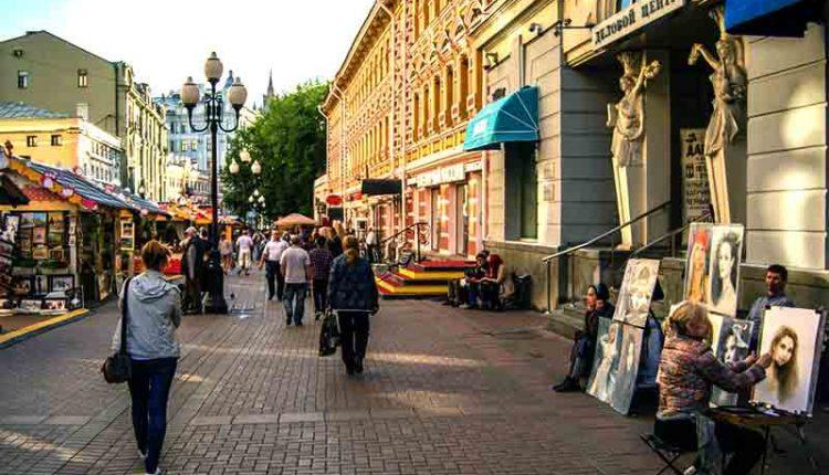 Старый Арбат — главная достопримечательность Москвы