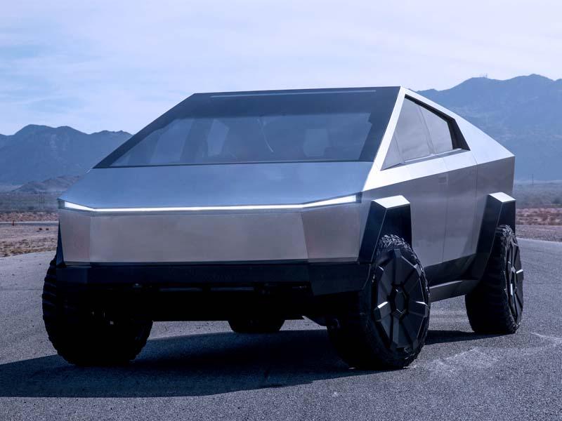 покататься на Tesla Cybertruck