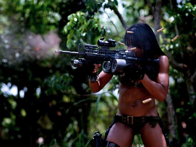 Девушки и пулемёты