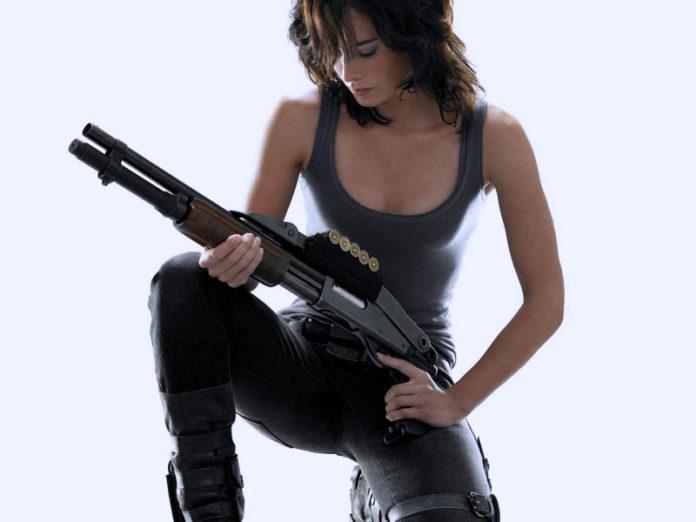 помповое ружьё