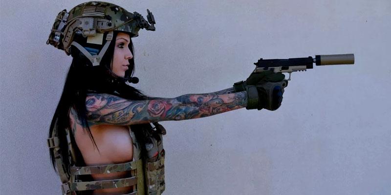 оружие для девушек