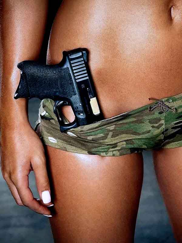 привлекательное оружие