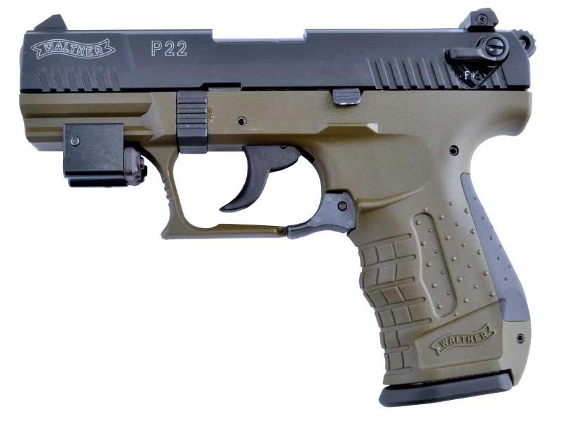 Огнестрельное оружие для девушек - Пистолет Walther P22