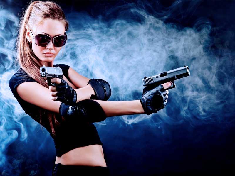 Огнестрельное оружие для девушек