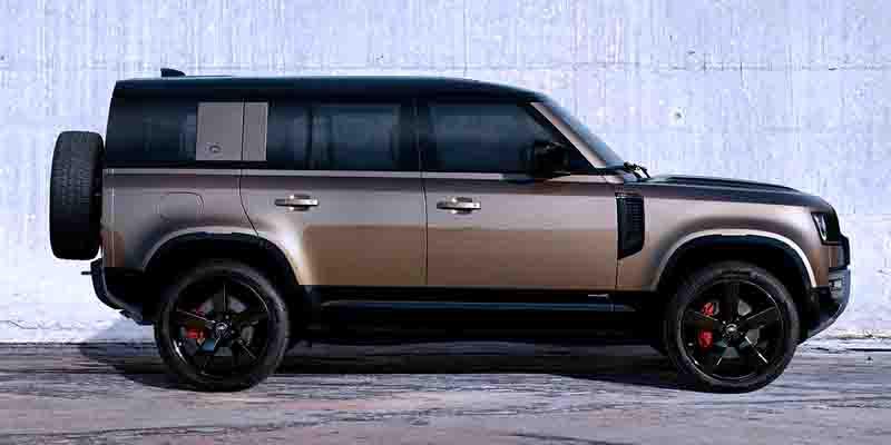 Внешний вид Land Rover