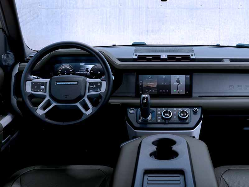 Салон Land Rover