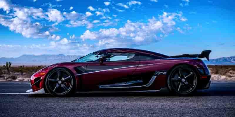 Самые быстрые серийные автомобили: Koenigsegg Agera RS