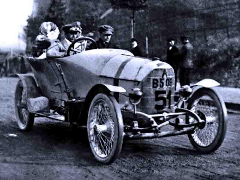 Самые быстрые серийные автомобили: Austro-Daimler Prince Henry