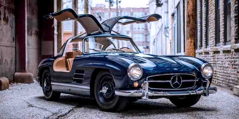 Самые быстрые серийные автомобили: Mercedes-Benz 300SL