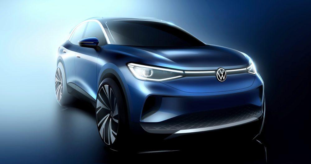 Лучшие новости о возможности с сентября заказать электрический кроссовер Volkswagen ID.4
