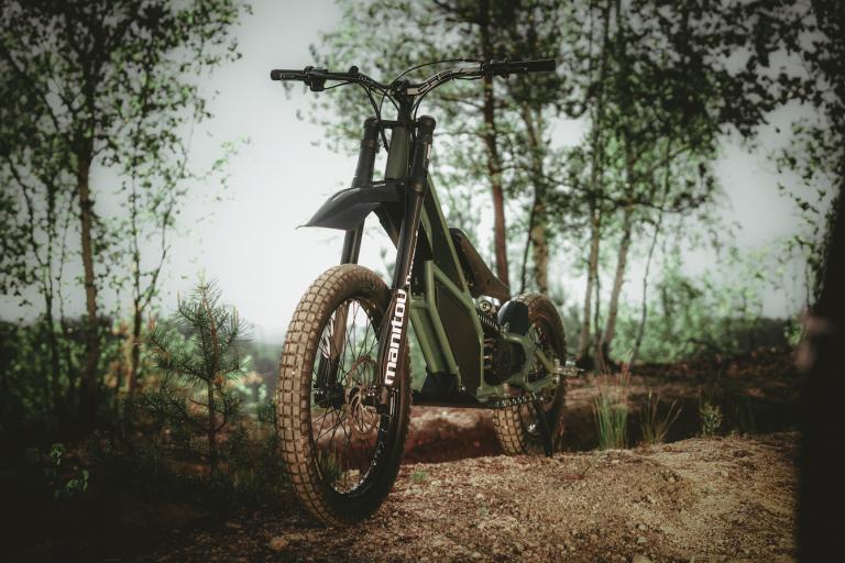 Лучшие новости о новом гибридном питбайке-велосипеде, анонсированном компанией Kuberg