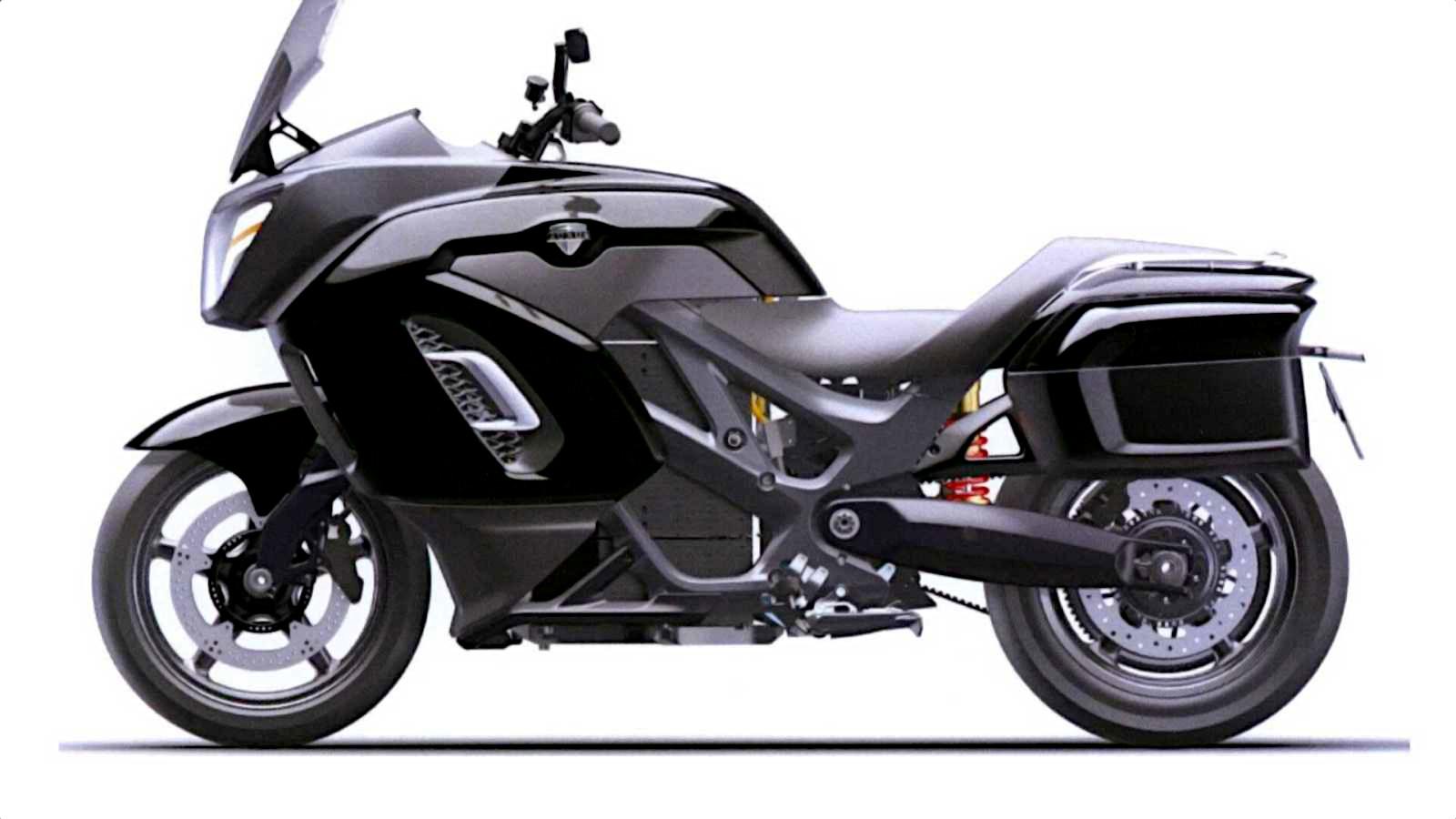 Лучшие новости о электрическом мотоцикле Владимира Путина