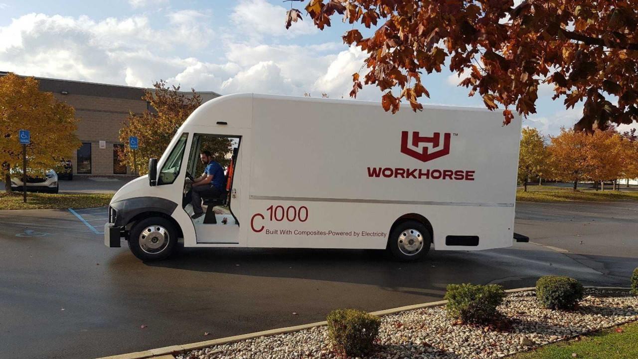 Лучшие новости о электро-автомобилях Workhorse C-1000 и C-650