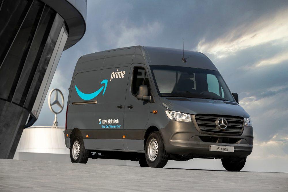 Лучшие новости о 1800 электромобилях заказанных компанией Amazon у Mercedes-Benz
