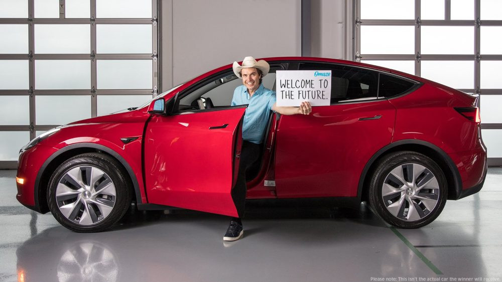 Лучшие новости о некоммерческой лотерее от Tesla Model Y