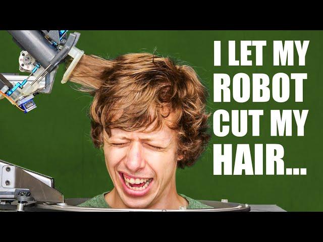 Лучшие новости про автономного робота-парикмахера