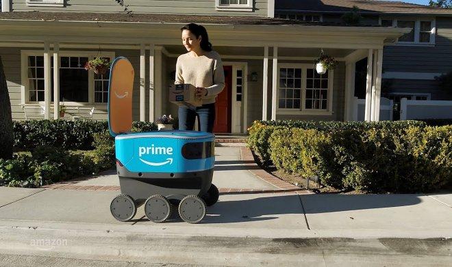 Лучшие новости о расширении сети роботов-курьеров Scout компании Amazon.