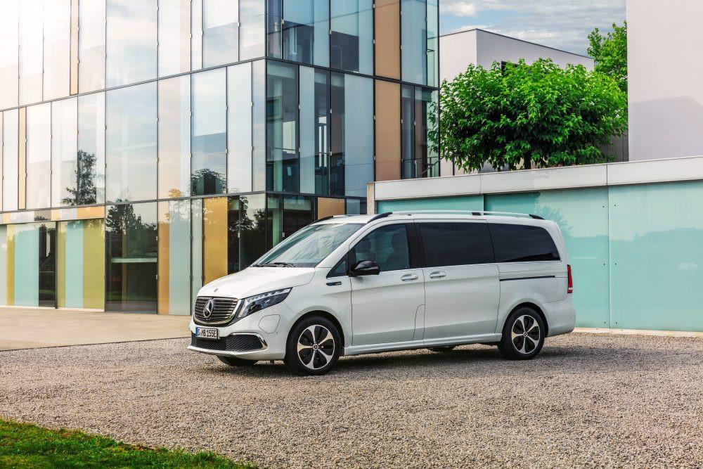 Лучшие новости о запуске нового электрического минивэна Mercedes-Benz