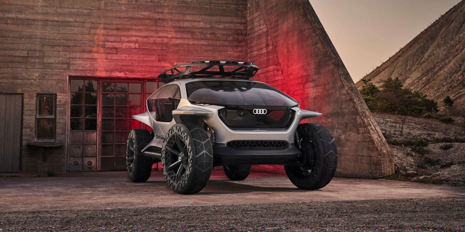 Лучшие новости о демонстрации новой технологии, разработанной компанией Audi