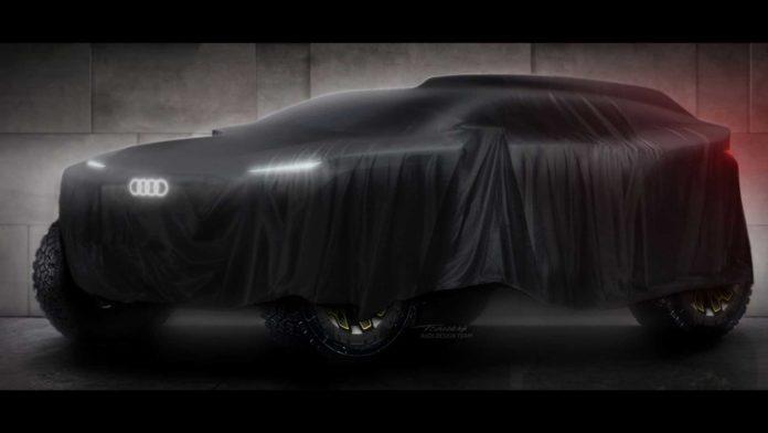 Лучшие новости о гоночном электровнедорожнике Audi