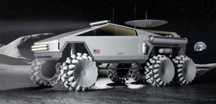 Лучшие новости о вездеходе лунного стиля Tesla Cybertruck.