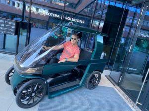 Лучшие новости о мини электромобиле Car-eBike от CityQ.