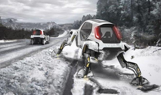 Лучшие новости о намерении Hyundai купить робо-пса и сделать шагающие автомобили.