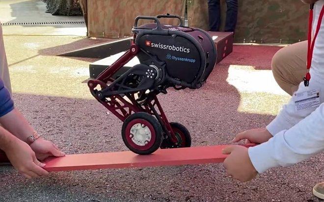 Лучшие новости о чудесах балансировки двухколесного робота Ascento 2.