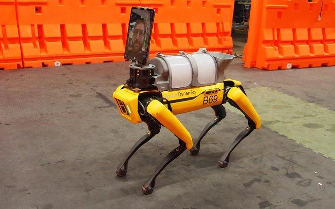 Лучшие новости о помощи универсального робота Spot в больницах в борьбе с COVID-19.