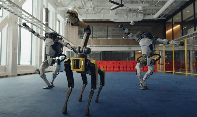 Лучшие новости о видеоролике с танцующими роботами Boston Dynamics