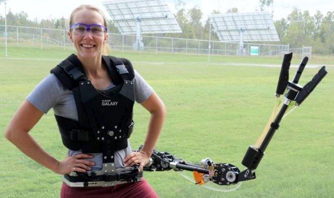 Лучшие новости о разработке роботизированной конечности.
