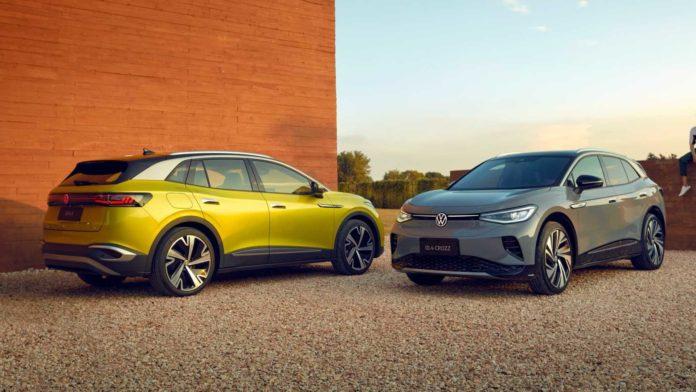 Лучшие новости о выпуске электрокроссоверов Volkswagen