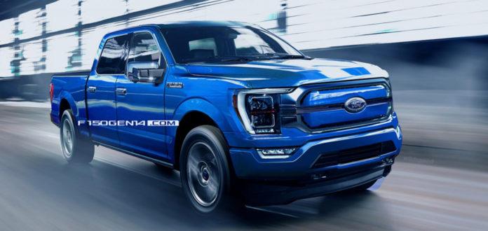 Лучшие новости о Ford F150 Electric 2022 года.