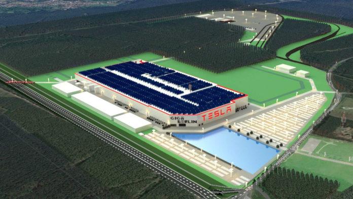 Лучшие новости о визуализации нового завода Tesla Gigafactory 4