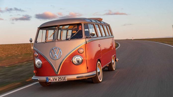 Лучшие новости об электрифицированной версии классического автомобиля VW e-Bulli.