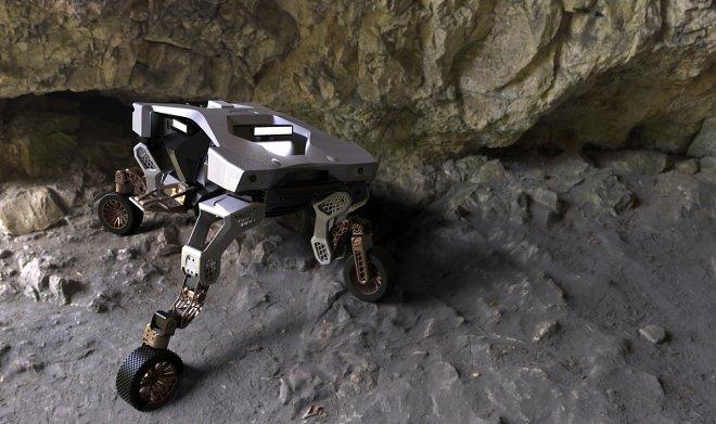 Лучшие новости о разработке нового колесного шагохода TIGER