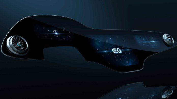 Лучшие новости о дисплее электрокара EQS