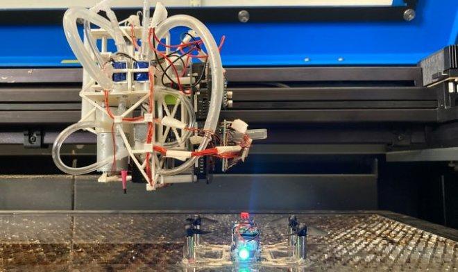 Лучшие новости о разработке, которая может печатать готовых роботов