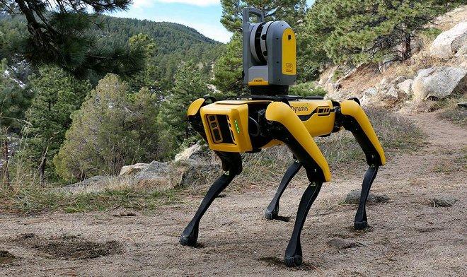Лучшие новости о предложении компании Formant погулять с робопсом Spot.