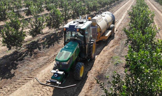 Лучшие новости о беспилотном тракторе