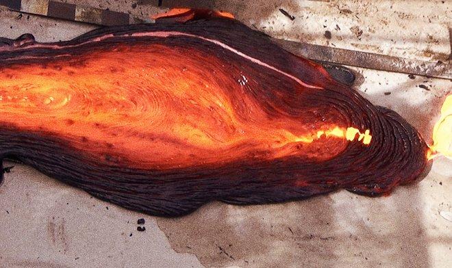 Лучшие новости о модели вулканической магмы из расплавленного металла