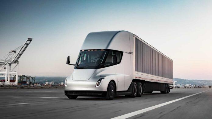 Лучшие новости о размере батареи Tesla Semi