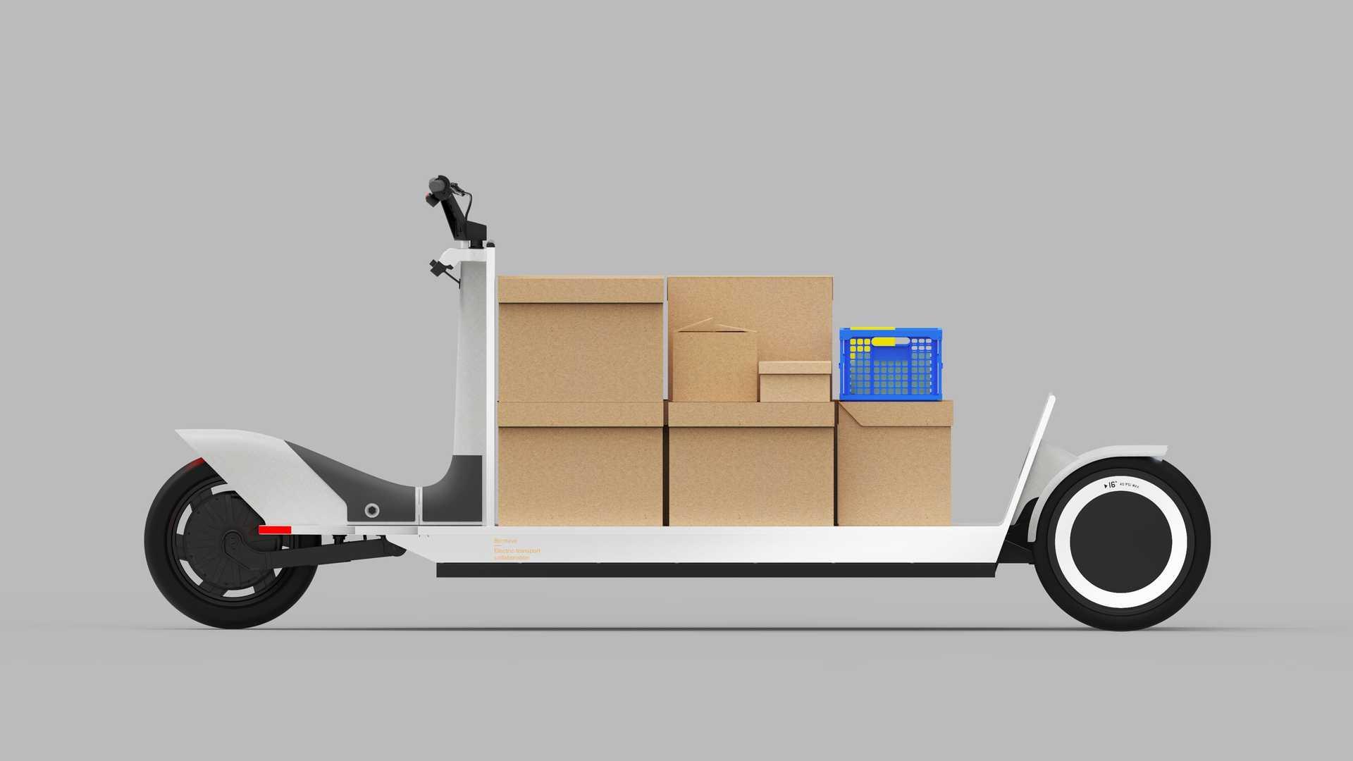 Лучшие новости о грузовом электроскутере Polestar