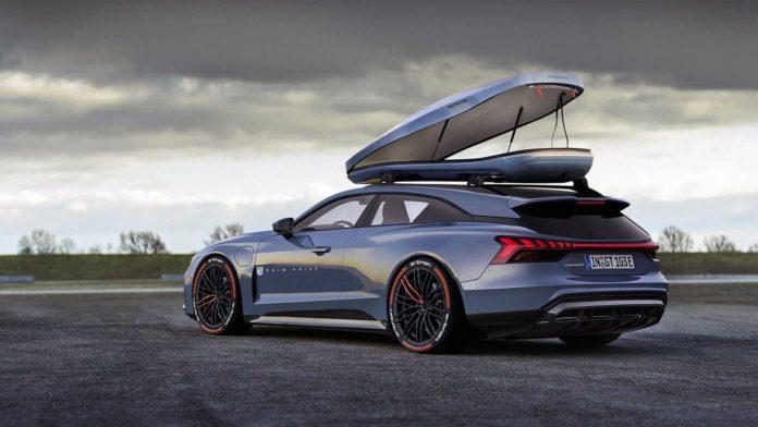 Лучшие новости о новом обличии Audi e-tron GT
