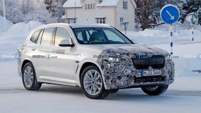 Лучшие новости о рестайлинге BMW iX3