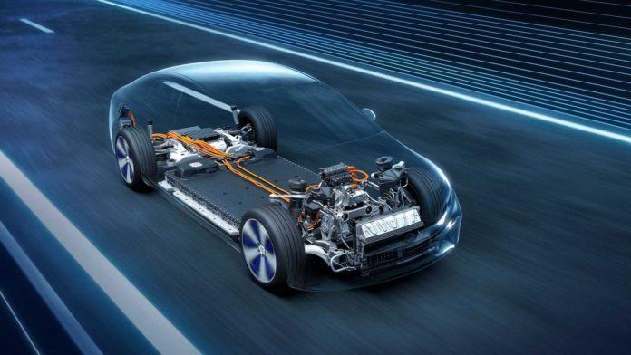 Лучшие новости об электромобиле Mercedes